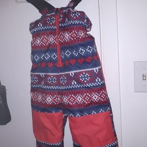 Girls snow pants size 3
